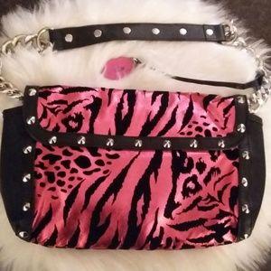 Authentic Betsey Johnson Animal Print Handbag NWOT